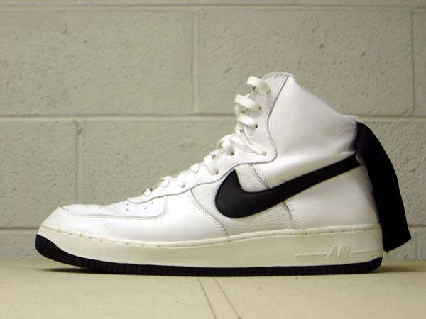 promo code 7bf4d cbbc7 Nike Air Force 1 High (white black). View Full-Size Image
