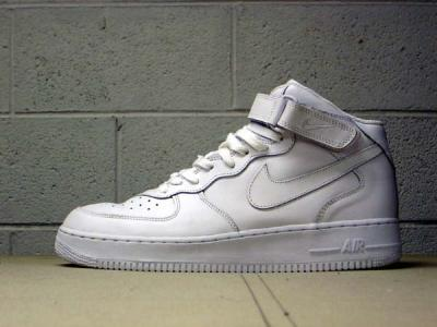 Nike Air Force 1 Mid (white white) 405cd433c